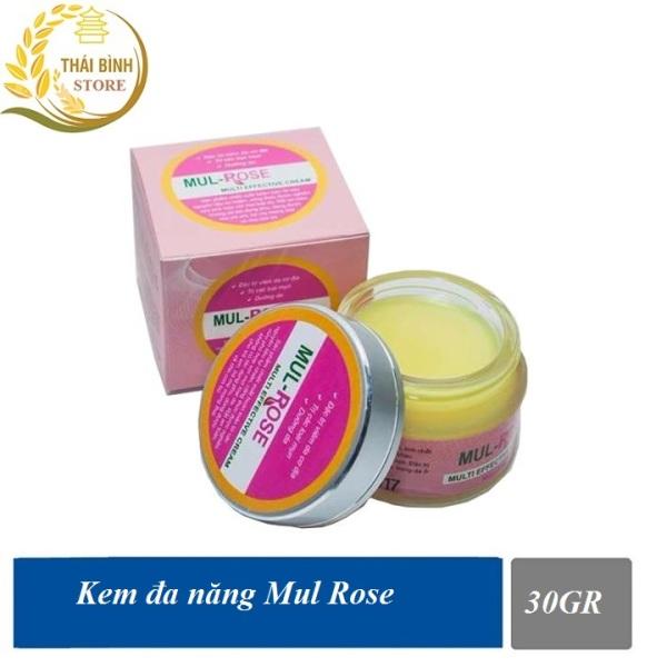 Kem đa năng Mul Rose hết viêm da cơ địa , nứt gót chân , chàm sữa hăm , thủy đậu và rạn da - 30gr giá rẻ