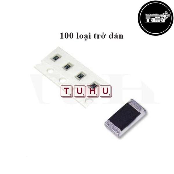 Bảng giá Combo 100 Loại Trở Dán 0.25W Giá Rẻ-Linh Kiện Điện Tử TuHu Phong Vũ