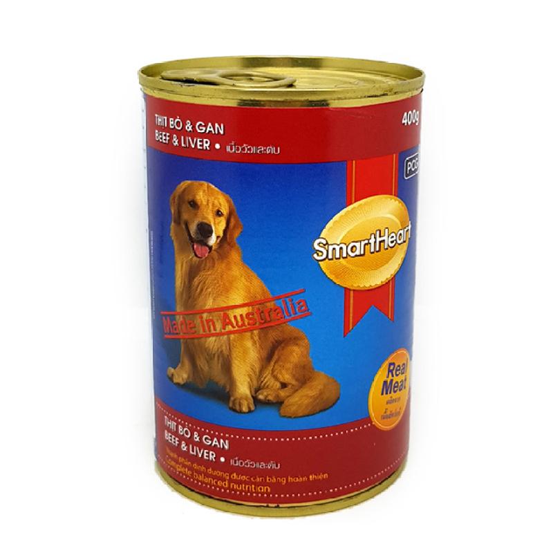 Pate Lon Smart Heart 400g Dành cho chó lớn - Phụ kiện chó mèo