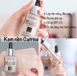 KEM NỀN CATRIC HD LIQUID thumbnail