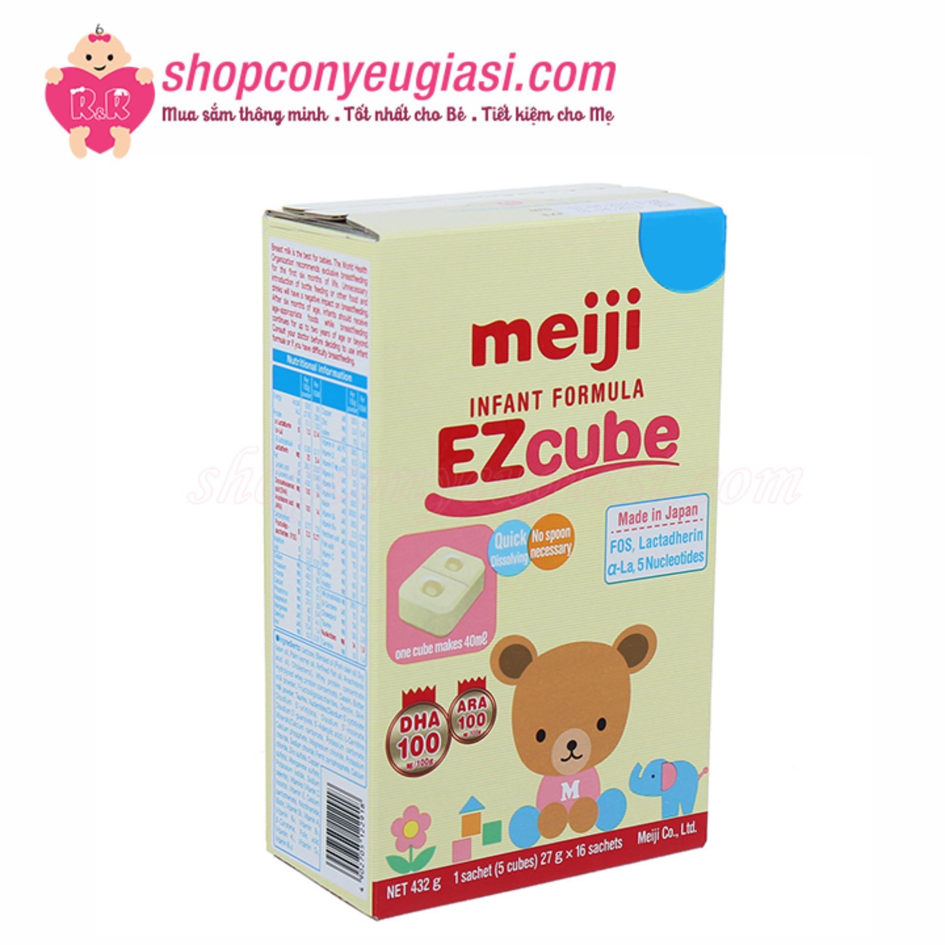 Sữa Meiji Số 0 Dạng Thanh Nhật Bản 432g -...