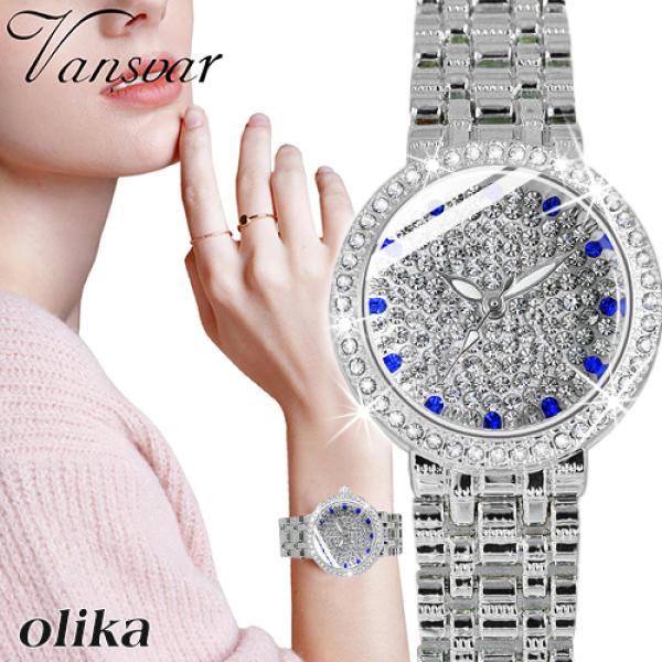 Nơi bán Đồng hồ nữ OLIKA JAPAN ELIS Đính Đá Sang Trọng - Tặng Kèm Pin ĐH Dự Phòng