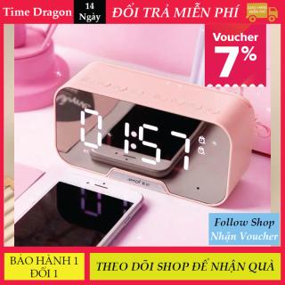Loa Bluetooth Không Dây Amoi G5 Màn Hình Kính Tráng Gương, Hiển Thị Giờ Và Nhiệt Độ Phòng, Làm Đồng Hồ Báo Thức Kiêm Đèn Ngủ Bảo Hành 1 Đổi 1 thumbnail