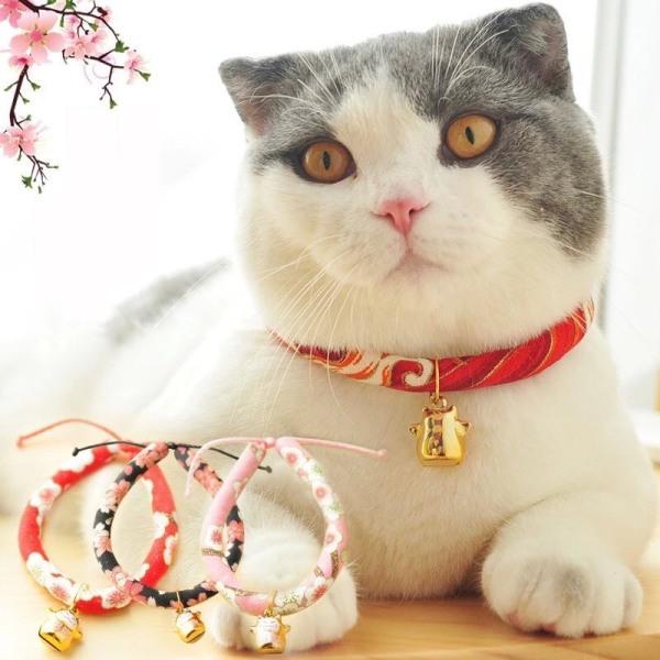 Vòng cho mèo - Hình mèo thần tài