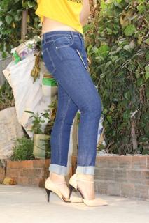 Quần Jeans nữ thời trang hàng hiệu Messi cao cấp 361 - 40 thumbnail