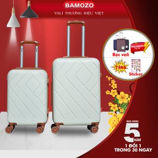 Vali kéo du lịch BAMOZO 8815 size 24inch nhựa ABS chống va đập- Bảo hành 5 năm thumbnail