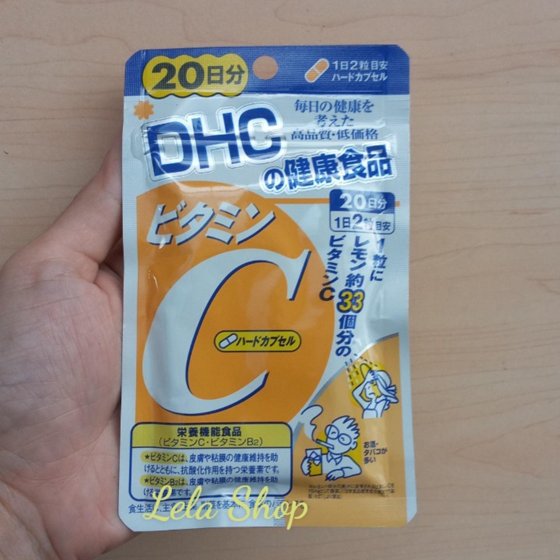 Viên Uống Bổ Sung Vitamin C DHC Nhật Bản nhập khẩu