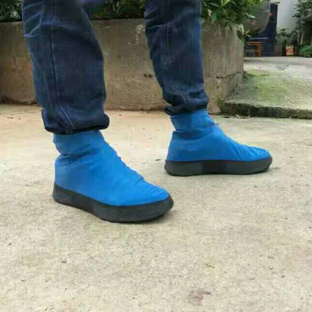Bọc Giày Đi Mưa Silicon ⚡ FREESHIP ⚡ Siêu Chống Thấm Siêu Bền