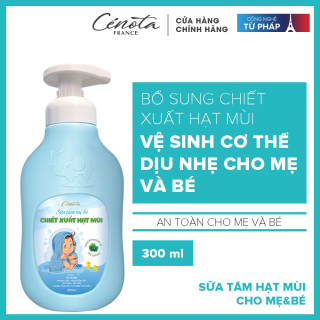 Sữa tắm cho mẹ và bé Cénota 300ml thumbnail