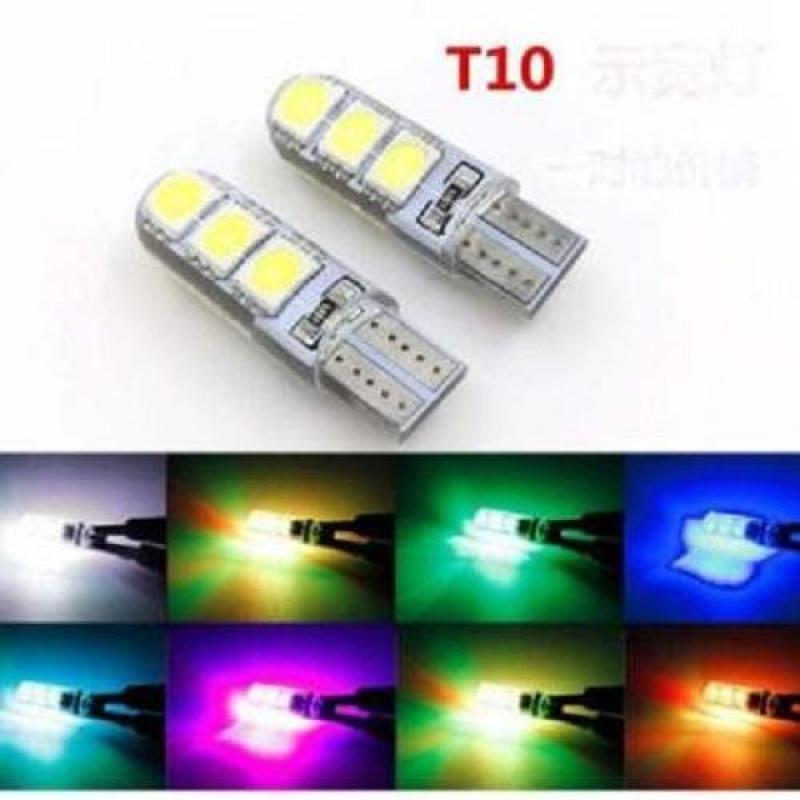 Bảng giá Bộ 2 Led Silicon CL015 T10 (6led - Trắng) -A29.248-Qmart Phong Vũ