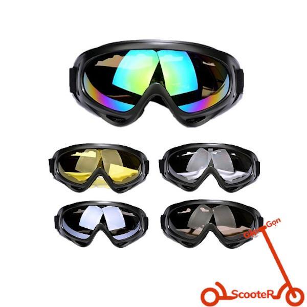 Giá bán Kính thể thao X400giúp chắn gió, chắn cát bụi và các tác động ngoại lực bảo vệ đôi mắt