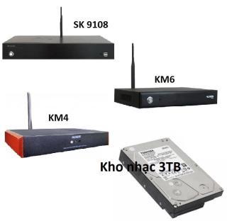 [HCM]Ổ Cứng Kho Nhạc karaoke Đầu Acnos SK9108 KM4 KM6 KM8 KM8E HDD 3TB (3TB) thumbnail