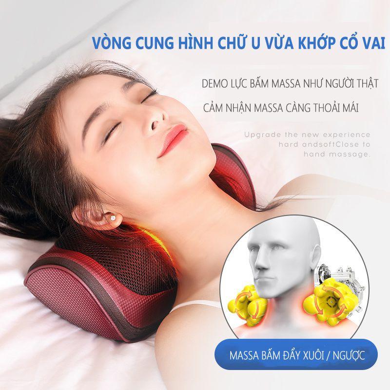 Mã Giảm Giá Khi Mua Gối Massage điện  Gối Massage Gáy Gối Massage đa Năng  Gối Massage