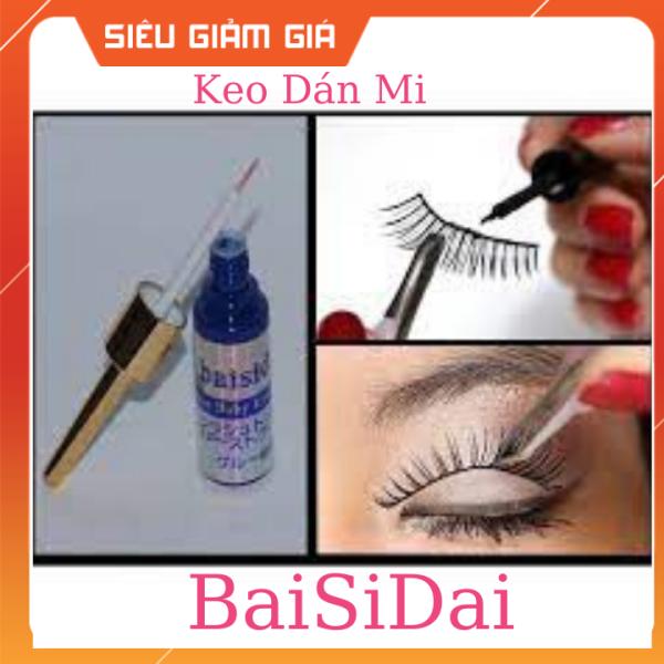 Keo dán mi Baisidai Nhật Bản chất keo an toàn với da và kết dính cao 15ml