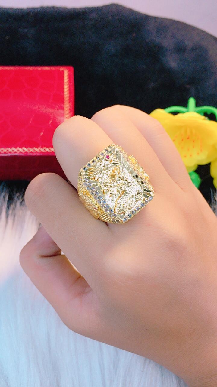 Nhẫn Nam Cao Cấp (Cam Kết Không đen)  GiVi-Shop VN040301 - Mang đi tiệc vô cùng sang trọng Nhật Bản