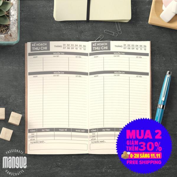Mua Sổ tay planner giữ tiền bìa cứng 21x11 tài chính cá nhân, thu chi, tiết kiệm, to-do list, thời gian biểu, check list, nhắc việc, lịch hẹn