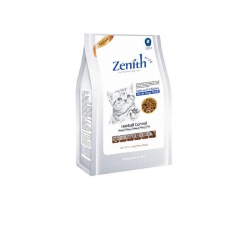 1.2kg Thức ăn hạt mềm cho mèo Zenith Hairball chống búi lông, chất lượng đảm bảo an toàn đến sức khỏe người sử dụng, cam kết hàng đúng mô tả