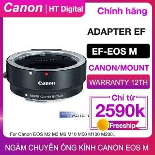 [HCM]Ngàm Chuyển Canon EF sang EOS M cho Canon EOS M M2 M3 M5 M6 M10 M50 M100 (Chính hãng Canon Lê Bảo Minh) thumbnail