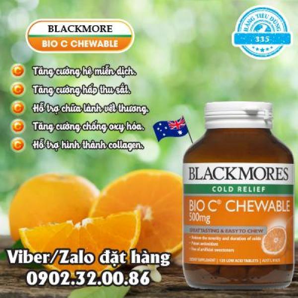 Viên bổ sung Vitamin C Blackmore Bio C 500mg nhập khẩu