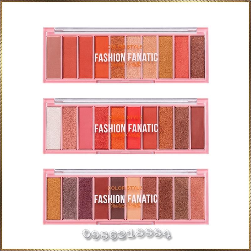 Bảng phấn màu mắt Color Style Fashion Fanatic Shadow Palette cao cấp