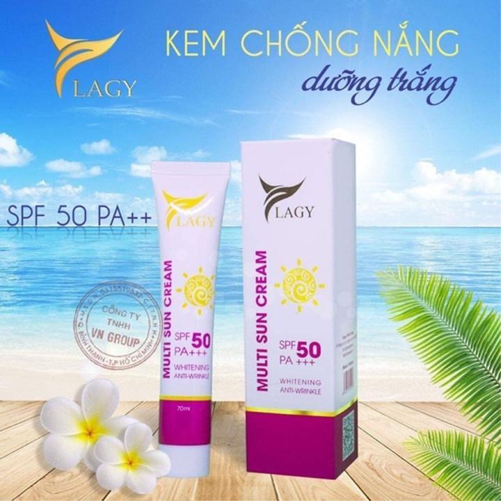 Kem chống nắng đa tác động YLAGY 70ml SPS50 PA +++ tốt nhất