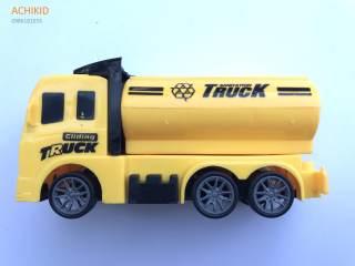Đồ chơi xe Truck xinh xắn màu vàng có bánh đà cho bé thumbnail