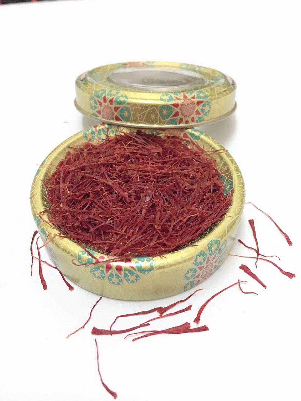 Saffron - Nhuỵ Hoa Nghệ Tây Loại 1 (Super Negin) Đang Khuyến Mãi