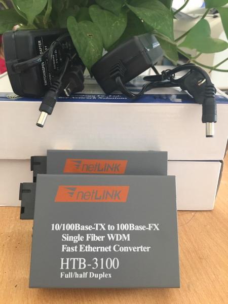 Giá Bộ Converter single mode HTB3100AB 1 Sợi 100Mbps bộ 2 cái