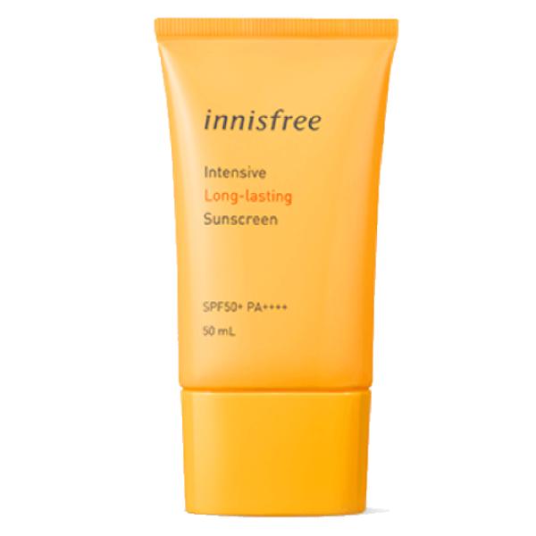 [New 2019] Kem Chống Nắng Không Trôi Innisfree Intensive Long-Lasting Sunscreen SPF50+/PA++++ 50ml