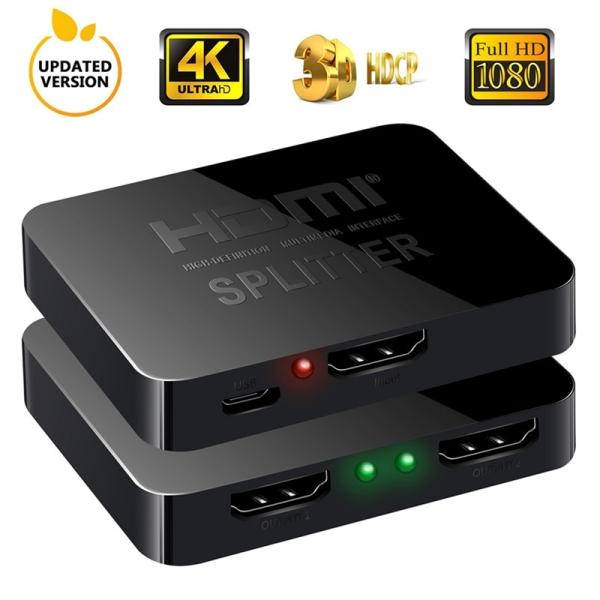 Bảng giá Full HD 4K HDMI Splitter Converter 1 In 2 Out Switcher Box Hub 3D 1080P for XBOX 360 PS3/4/5 Phong Vũ