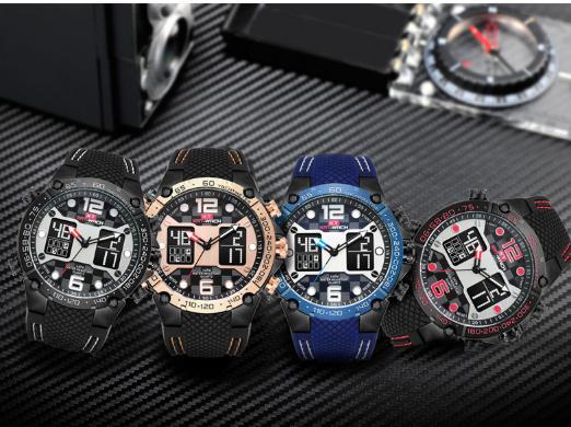 Nơi bán Đồng hồ thể thao nam KatWatch- đồng hồ điện tử, kim