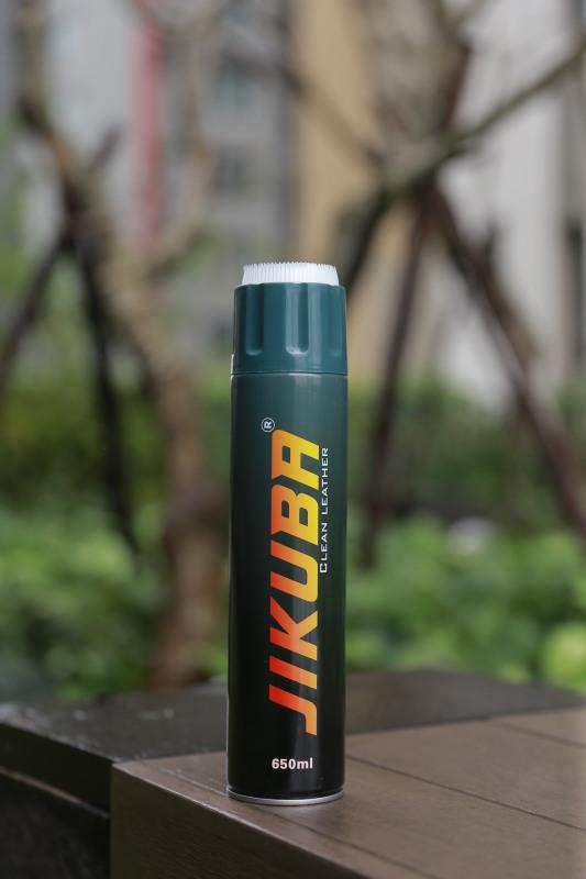 Bọt Xịt Tuyết Jikuba 650ml  - Bình Cứu Hỏa Mini - Chuyên Gia làm sạch ghê da , nỉ , taplo, nội ngoại thất ô tô
