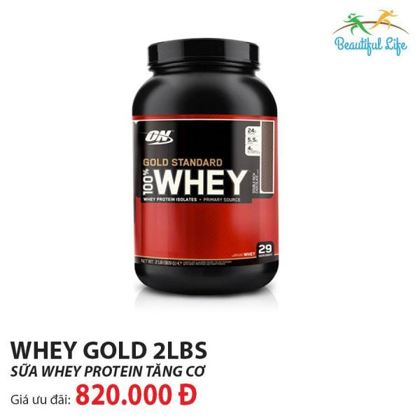 Thực phẩm bổ sung Optimum Nutrition Whey Gold Standard 2Lbs