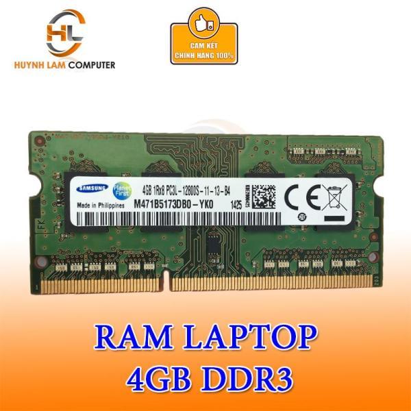 Bảng giá Ram Laptop 4GB DDR3L hãng phân phối (hiệu Ram ngẩu nhiên) Phong Vũ