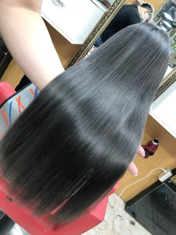 Thuốc nhuộm tóc Chiko màu khói xám (8.1) + TẶNG kèm trợ nhuộm 100ml cao cấp