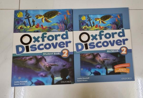 Oxford Discover 2 ( Sb & Wb) kèm đầy đủ tài liệu cho bé