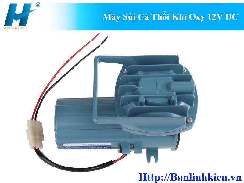 Máy Sủi Cá Thổi Khí Oxy 12V DC