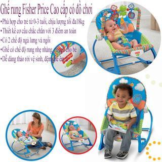 Ghế rung trẻ em có đồ chơi ,Ghế rung cho bé, ghế rung fisher price, dành cho bé từ 0-3 tuổi, với thiết kế cơ cấu với 3 điểm an toàn cho bé, Chế độ rung nhè nhẹ ru bé ngủ, dỗ bé ăn bột với bộ treo gấu cực dễ thương Bh uy tín 1 năm thumbnail
