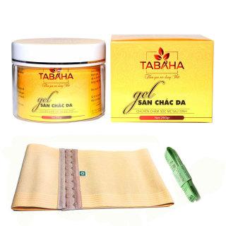 Gel tan mỡ bụng Tabaha 250g tặng Nịt Bụng và Thước dây thumbnail