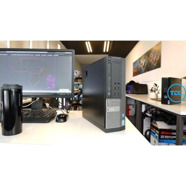 Bảng giá Bộ máy tính để bàn Dell Optiplex core i7 3770 ram 8gb SSD 240gb HDD 1TB, Màn hình Dell 22 inch. Quà Tặng.Bảo hành 2 năm Phong Vũ