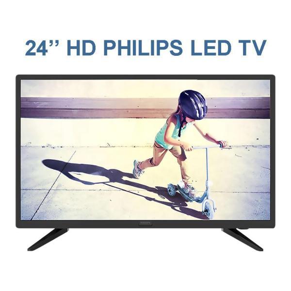 Bảng giá Tivi Led Philips 24 inch HD - Model 24PHT4003S/74 (Đen) Tích hợp DVB-T2, Made in ThaiLand