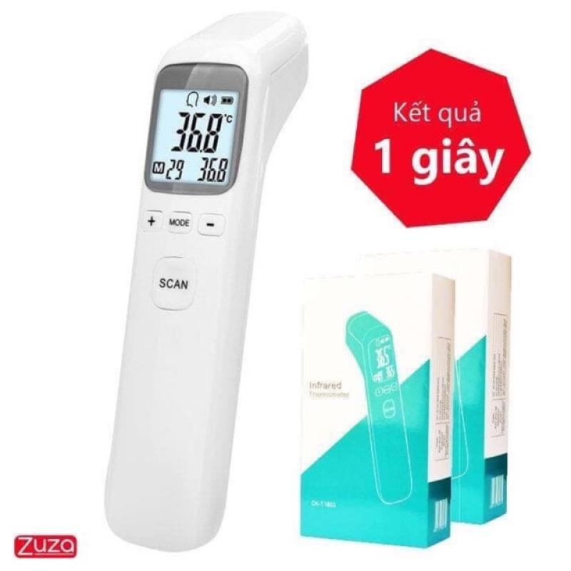 [ Sản Phẩm Mùa Dịch] Nhiệt kế điện tử - Nhiệt kế hồng ngoại Infrared CK-TT1803, công nghệ Nhật Bản độ chính xác cao, đo trong 1 giây- Máy đo nhiệt độ, Máy đo thân nhiệt bảo hành uy tín lỗi 1 đổi 1 toàn quốc