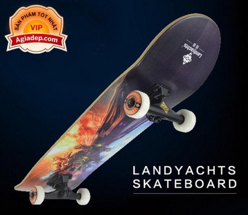 Ván trượt chuyên nghiệp SkateBoard (Phi thuyền mặt đất Landyard) - Thông minh của Agiadep