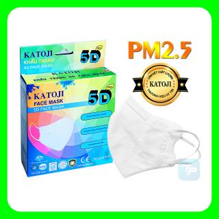 PM2.5 KHẨU TRANG KHÁNG KHUẨN 5D KATOJI [Hộp 10 cái] thumbnail