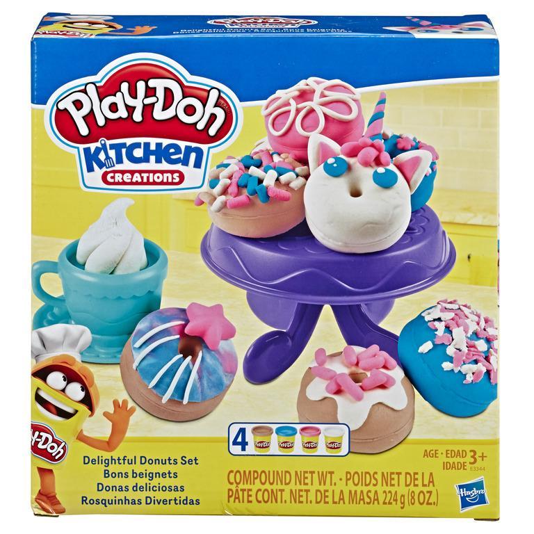 Mã Giảm Giá Khi Mua Đồ Chơi đất Nặn Bánh Donut Sắc Màu Play-Doh