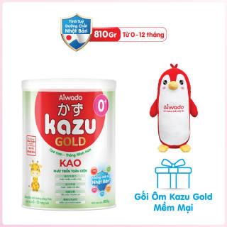 [Tinh tuý dưỡng chất Nhật Bản] Sữa bột KAZU KAO GOLD 810g 0+ thumbnail