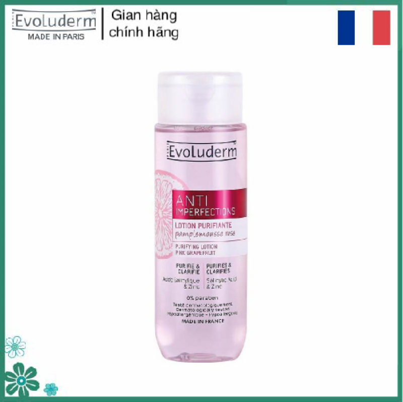 Nước hoa hồng Lotion cân bằng da giúp giảm mụn kháng viêm tinh chất Bưởi Hồng dành cho da nhạy cảm và mụn 200ml giá rẻ