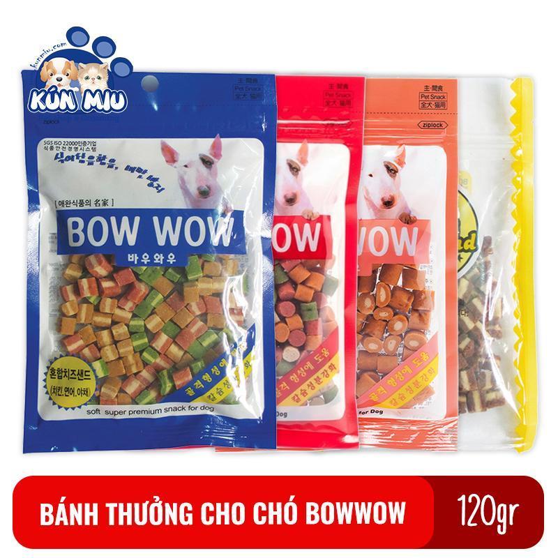 Bánh thưởng cho chó Bowwow Hàn Quốc 120gr