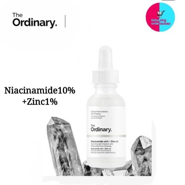 (tinhyixing) The Ordinary Niacinamide 10% + Zinc 1% Tinh chất dưỡng trắng da chống thâm nám 30ML Serum dầu mặt Cân bằng làm giảm vết thâm cho da Kem dưỡng ẩm làm trắng da Moisturizing Skin Care Whitening
