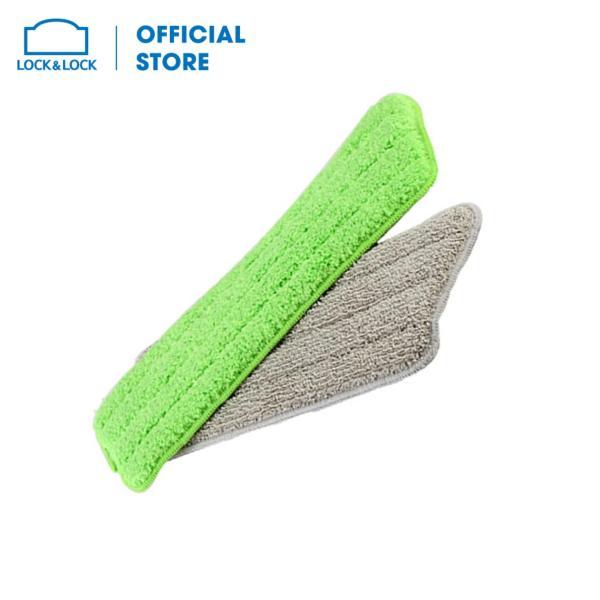 Bộ 2 tấm vải lau sàn thay thế bằng vải sợi Microfiber của cây lau sàn ETM461 Lock&Lock ETM461RFL